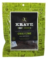 Krave Jerky - Gourmet Beef Jerky Chili Lime - 3.25 oz., from category: Health Foods
