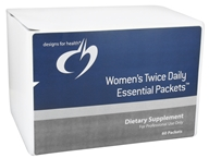 Image of Designs For Health - Women's Twice Daily Essential Packets - 60 Packet(s)