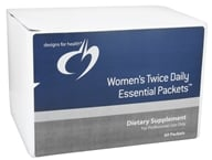 Designs For Health - Women's Twice Daily Essential Packets - 60 Packet(s), from category: Professional Supplements