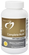 Designs For Health - DFH Complete Multi with Copper and Iron - 180 Vegetarian Capsules - $46