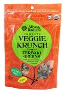 Alive & Radiant Foods - Organic Veggie Krunch Teriyaki Greens - 2 oz., from category: Health Foods