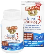 Barlean's - Ideal Omega3 Orange Flavored - 30 Softgels (705875610209)