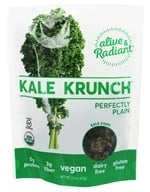 Alive & Radiant Foods - Kale Krunch Perfectly Plain - 2.2 oz., from category: Health Foods
