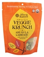 Alive & Radiant Foods - Organic Veggie Krunch Arugula Cabbage - 2 oz. by Alive & Radiant Foods