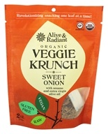 Alive & Radiant Foods - Organic Veggie Krunch Sweet Onion - 2 oz. (827455004670)