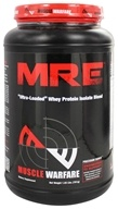 Muscle Warfare - MRE Ultra-Loaded Whey Protein Isolate Blend Milk Chocolate 25 Servings - 1.55 lbs. (855660002358)
