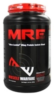 Muscle Warfare - MRE Ultra-Loaded Whey Protein Isolate Blend Vanilla 25 Servings - 1.44 lbs. (855660002365)