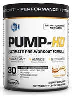Image of BPI Sports - Pump-HD Pre-Workout Muscle Builder Peaches N' Cream - 30 Servings - 11.64 oz.