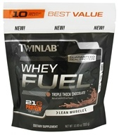 Twinlab - Whey Fuel Pouch Triple Thick Chocolate - 10.93 oz. by Twinlab