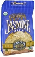 Image of Lundberg - Organic California Brown Jasmine Rice - 16 oz.