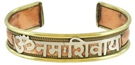 Image of Triloka - Copper Power Bracelet Om Namah Shivaya