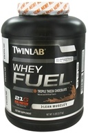 Twinlab - Whey Fuel Triple Thick Chocolate - 5 lbs. by Twinlab