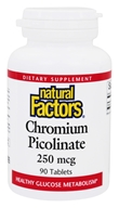 Image of Natural Factors - Chromium Picolinate 250 mcg. - 90 Tablets