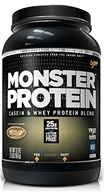 Cytosport - Monster Protein Casein & Whey Blend Chocolate - 2 lbs. by Cytosport