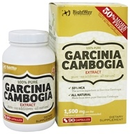 Rightway Nutrition - Garcinia Cambogia Extract 100% Pure - 90 Capsules