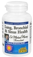 Natural Factors - Dr. Murray's Lung, Bronchial & Sinus Health - 45 Tablets, from category: Nutritional Supplements