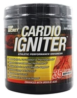 Top Secret Nutrition - Cardio Igniter Athletic Performance Enhancer Fruit Punch - 35 Servings - 11.11 oz. by Top Secret Nutrition