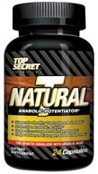 Top Secret Nutrition - Natural T Test Booster Anabolic Potentiator Trial Size - 24 Capsules (858311002653)