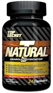 Image of Top Secret Nutrition - Natural T Test Booster Anabolic Potentiator Trial Size - 24 Capsules