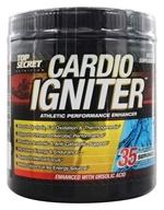 Image of Top Secret Nutrition - Cardio Igniter Athletic Performance Enhancer Blue Raspberry - 35 Servings - 11.11 oz.
