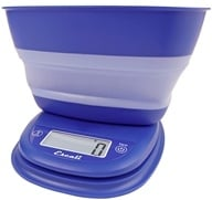 Escali - Pop Collapsible Bowl Digital Scale B115FB Frost Blue by Escali