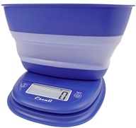 Escali - Pop Collapsible Bowl Digital Scale B115FB Frost Blue - $29.95