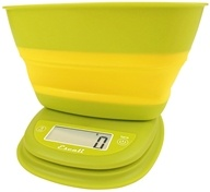 Escali - Pop Collapsible Bowl Digital Scale B115GY Garden Yellow - $29.95