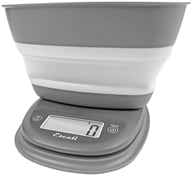 Image of Escali - Pop Collapsible Bowl Digital Scale B115 Twilight Gray