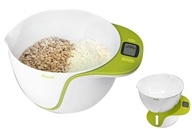 Escali - Taso Mixing Bowl Digital Scale MB115KG Kiwi Green