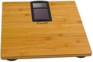 Escali - Solar Powered Bathroom Scale ECO180 Bamboo