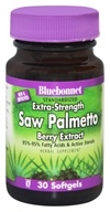 Bluebonnet Nutrition - Standardized Extra-Strength Saw Palmetto Berry Extract 320 mg. - 30 Softgels