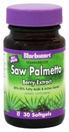 Bluebonnet Nutrition - Standardized Saw Palmetto Berry Extract 160 mg. - 30 Softgels, from category: Herbs