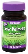 Bluebonnet Nutrition - Standardized Saw Palmetto Berry Extract 160 mg. - 30 Softgels (743715013889)
