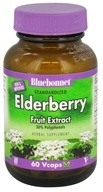 Bluebonnet Nutrition - Standardized Elderberry Fruit Extract 150 mg. - 60 Vegetarian Capsules by Bluebonnet Nutrition