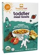 Image of HappyBaby - Happy Tot Organic Superfoods Toddler Meal Bowl Super Beefy Pasta - 6 oz.