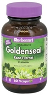 Image of Bluebonnet Nutrition - Standardized Goldenseal Root Extract 250 mg. - 60 Vegetarian Capsules