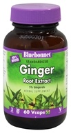 Bluebonnet Nutrition - Standardized Ginger Root Extract 300 mg. - 60 Vegetarian Capsules (743715013469)