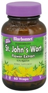 Bluebonnet Nutrition - Standardized St. John's Wort Flower Extract 300 mg. - 60 Vegetarian Capsules by Bluebonnet Nutrition