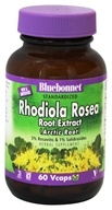 Bluebonnet Nutrition - Standardized Rhodiola Rosea Root Extract (Arctic Root) 250 mg. - 60 Vegetarian Capsules - $14.36