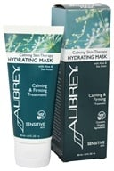 Aubrey Organics - Calming Skin Therapy Hydrating Mask with Aloe & Sea Aster - 3 oz. (Formerly Vegecol with Aloe & Oatmeal Soothing Mask)