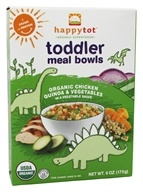 HappyBaby - Happy Tot Organic Superfoods Toddler Meal Bowl Chicken Quinoa & Vegetables - 6 oz.
