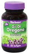 Bluebonnet Nutrition - Oil of Oregano Leaf Extract 150 mg. - 60 Softgels