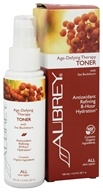 Aubrey Organics - Age-Defying Therapy Toner Spray with Sea Buckthorn - 3.4 oz. (Formerly Green Tea & Ginkgo Facial Toner) by Aubrey Organics