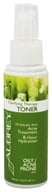 Aubrey Organics - Clarifying Therapy Toner 1% Salicylic Acid Acne Treatment - 3.4 oz.