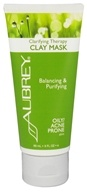 Aubrey Organics - Clarifying Therapy Clay Mask - 3 oz. (Formerly Natural Herbal Oil Balancing Mask)