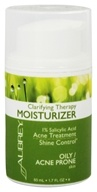 Aubrey Organics - Clarifying Therapy Moisturizer 1% Salicylic Acne Treatment - 1.7 oz. (Formerly Natural Herbal Maintenance Moisturizer)