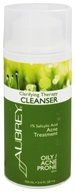Aubrey Organics - Clarifying Therapy Cleanser 1% Salicylic Acid Acne Treatment - 3.4 oz.