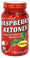 Fusion Diet Systems - Raspberry Ketones 250 mg. - 90 Capsules by Fusion Diet Systems