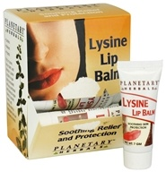 Planetary Herbals - Lysine Lip Balm - 0.2 oz., from category: Personal Care