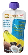 HappyBaby - Happy Tot Organic SuperFoods Banana, Peach, Coconut & Prune - 4.22 oz. (852697001316)
